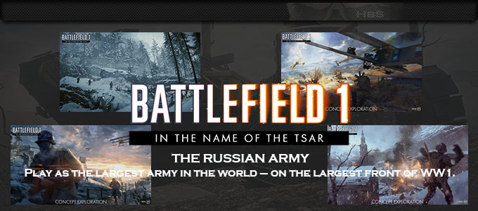 EA: BATTLEFIELD 1 IN THE NAME OF THE TSAR